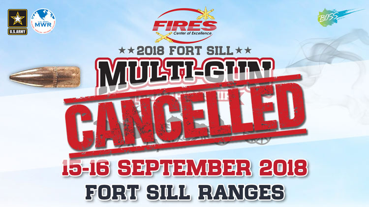 Multi-Gun Championship - Cancelled