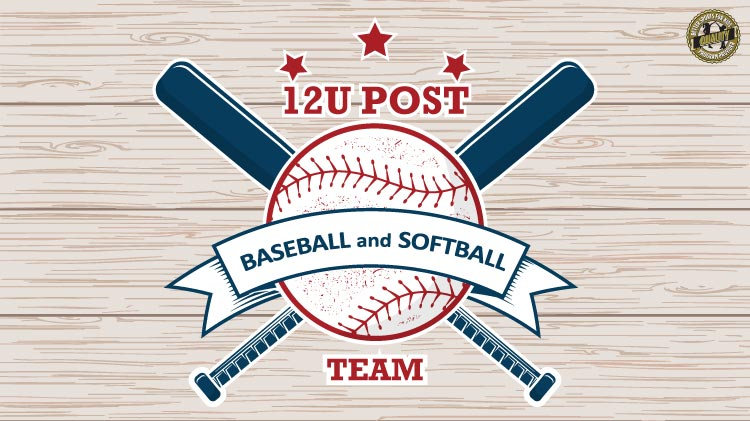 12U Post Team Baseball & Softball