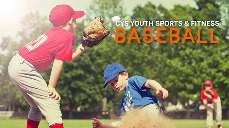 Youth Sports & Fitness Baseball Registration