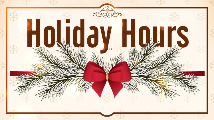 2018 Family and MWR Holiday Hours