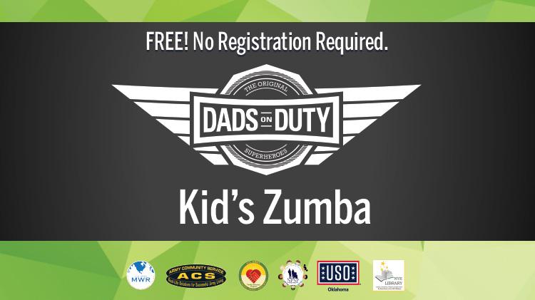 Dads on Duty: Kid's Zumba