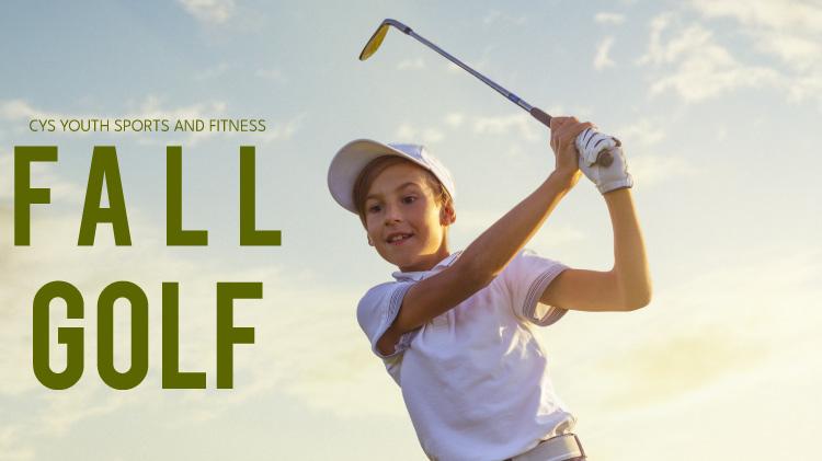 CYS Fall Golf Registration: