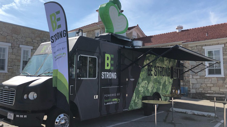 FMWR Be Strong Food Truck