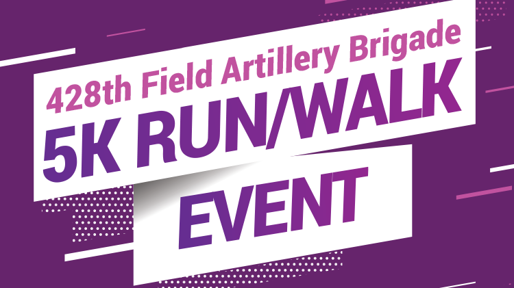 428th FA BDE Domestic Violence Prevention Month 5K Run/Walk