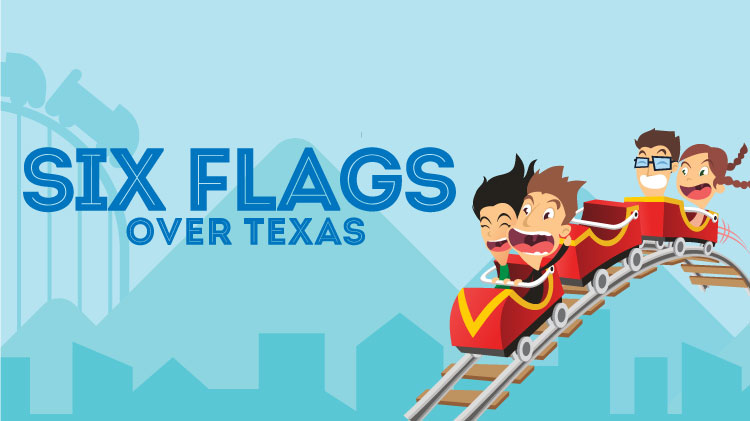 Winter Break Field Trip - Six Flags over Texas