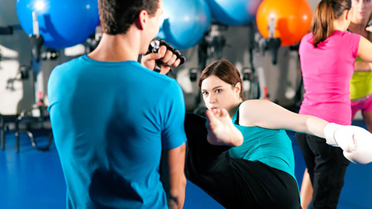 Cardio Kickboxing with Thomas