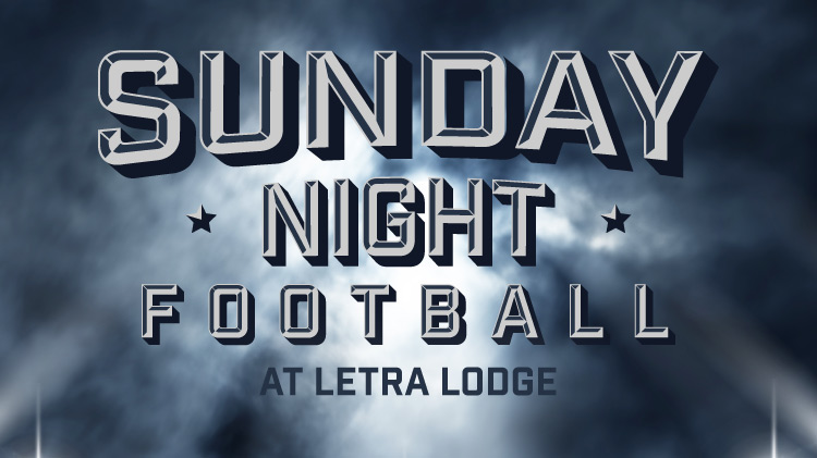 Sunday Night Football at LETRA
