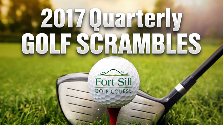 2017 Quarterly Golf Scrambles