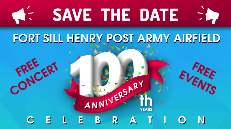 Save the Date! 100th Anniversary of Henry Post Army Airfield