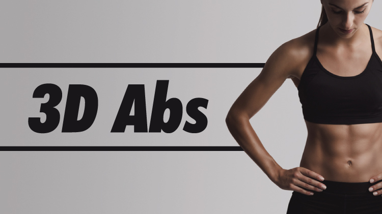 3D Abs with Claudia