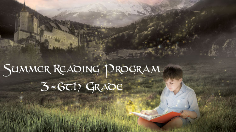 3rd - 6th Grade Summer Reading Program