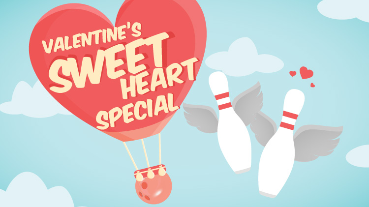 Valentine's Day Sweetheart Bowling Special