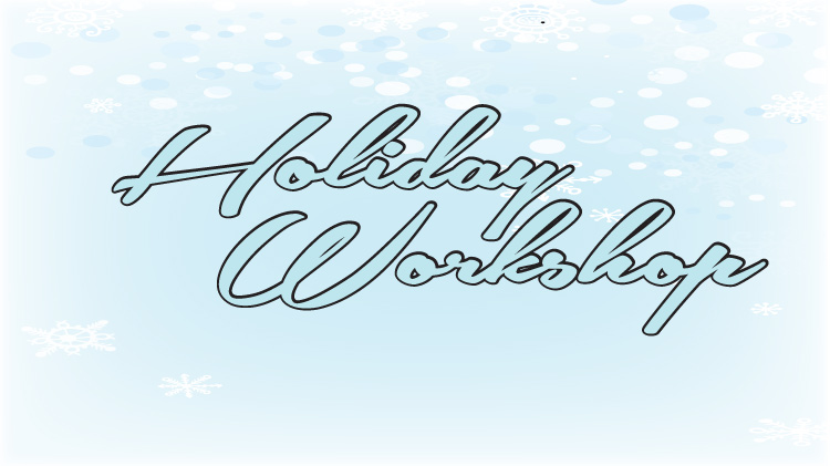 Holiday Card & Ornament Workshop